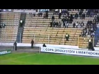 El Fantasma del estadio Hernando Siles captado por Fox Sports The Strongest vs Defensor Sporting